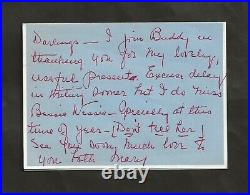 1950 Mary Pickford Hand Written Signed Letter
