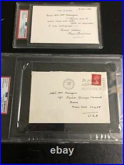 Autographed Alec Guinness Hand Written Letter And Envelope PSA Certified Signed