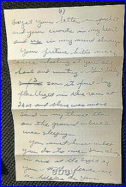Bewitched Dick York Signed Orig. Intimate 4 Page All Handwritten 1951 Letter