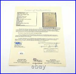 Fred Cyclone Taylor Signed Handwritten Letter Canadian Hockey JSA Auto
