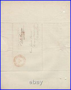 Handwritten Letter Signed by John Rodgers in 1835 withCOA