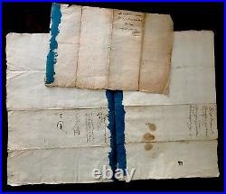 RARE Signed and Handwritten Letters 1640