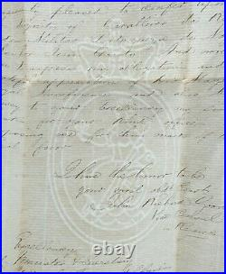 Rare King Luis I Portugal Handwritten Signed Royalty Letter Document Autograph