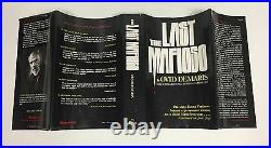 The Last Mafioso-Ovid Demaris-SIGNED with HANDWRITTEN SIGNED LETTER-First/1st/5th