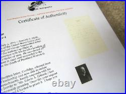 US PRESIDENT CALVIN COOLIDGE SIGNED HAND WRITTEN LETTER AUTOGRAPH With COA TLS